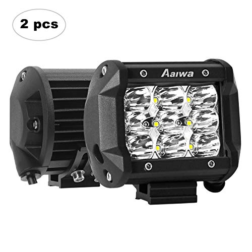 - AAIWA LED Pods, 27W LED Light Bar Driving Fog Lights 4
