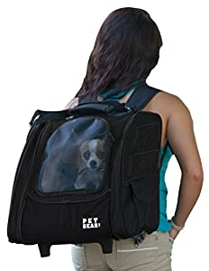 7. Pet Gear I-GO2 Roller Backpack