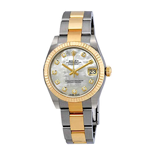 - Rolex Datejust Lady 31 Mother of Pearl Dial Stainless Steel and 18K Yellow Gold Oyster Bracelet Automatic Watch