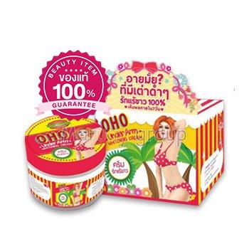 Cream, white arms oho (1 Pcs.) Product of Thailand.