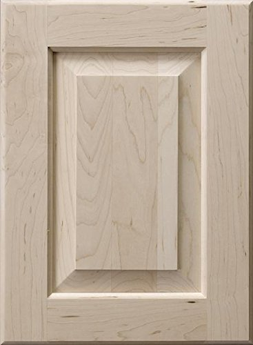 Cabinet Doors 'N' More 16'' X 22'' Unfinished Hard Maple Raised Square Panel Kitchen Cabinet Door by Cabinet Doors 'N' More