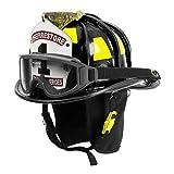 Cairns Black N6A Houston Leather Fire Helmet