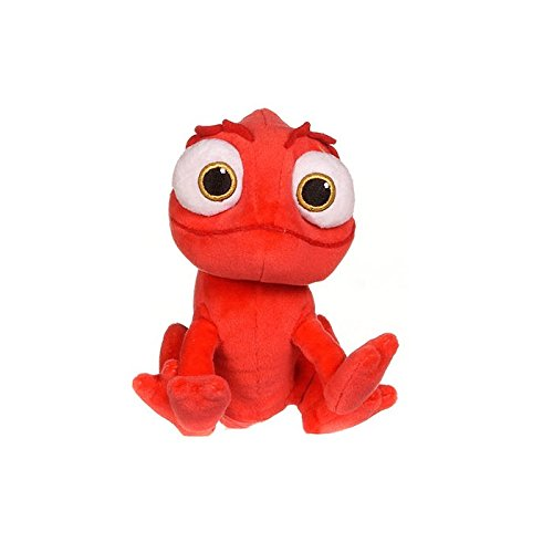Posh Paws Disney 37058 Tangled Pascal Red Chameleon Plush