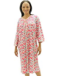 aa5992445f Womens Adaptive Hospital Gown Open Back Regular   Plus Sizes