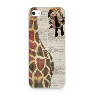 Giraffe Design Hard Case Cover for Apple Iphone 5 5s New 2013 by runtopwell