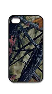 Customized Dual-Protective case iphone 4s men - camo color