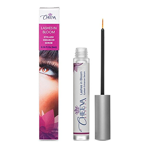 Grow Longer Fuller Eyelashes - Long Eyelashes are Beautiful Eyelashes - Lashes in Bloom Promotes Eyelash Growth - Includes a Free eBook full of Natural Beauty Tips - This Advanced Eyelash Serum is Backed by Our 100% Satisfaction Guarantee - So Order Yours Today!