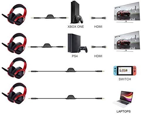 Auriculares para juegos AmazonBasics Pro - Negro 11