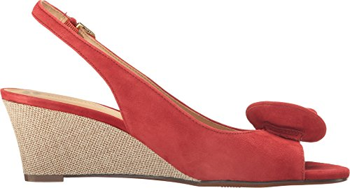 Naturalizer Vrouwen Tinna Slingback Rood Suede