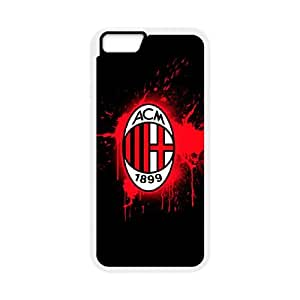 iPhone 6 4.7 Inch Cell Phone Case White AC Milan Football SLI_559786