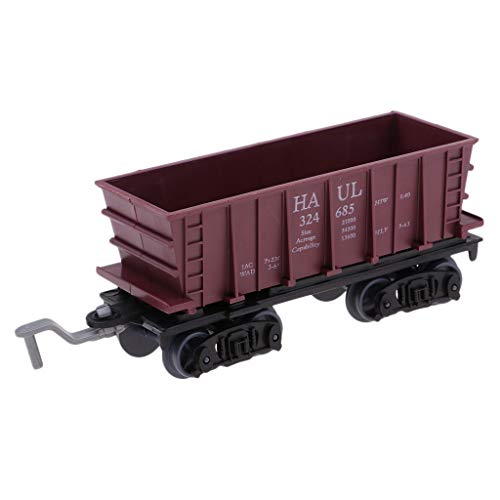 Model Kids Freight Toy HO Railway Scenery Layout Fit 2.4cm Track - Load Coal ()