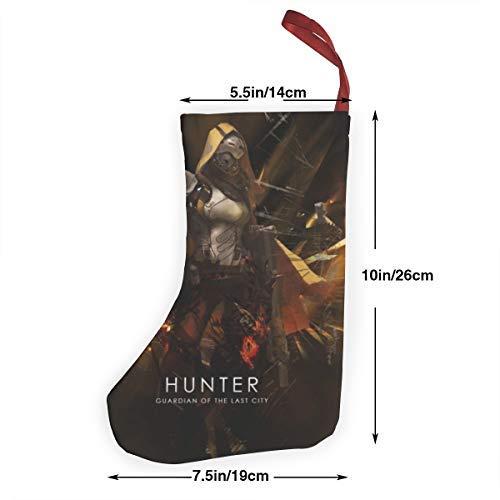 Destiny 2019 Halloween Event (Destiny-Game Hunter Christmas Stockings Home Ornaments Xmas Santa Claus Present)