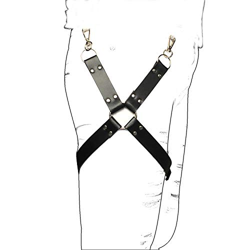 ca0be3f0a5a CKMORLS Women Sexy PU Leather Harness Belt Adjustable Punk Waist Garter Belt  (BP044)