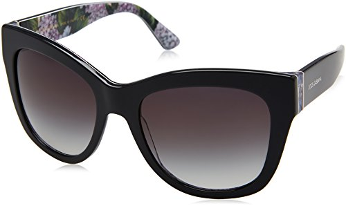 Dolce & Gabbana Women's 0DG4270 Grey Hydrangea Print/Grey Gradient One - Women Sunglasses Dolce And Gabbana