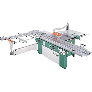 Grizzly ssa 320g 3 phase sliding table saw 10 hp 14 inch for 10 sliding table saw