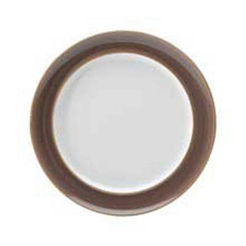 Wide Rimmed Dinner Plate (Denby Truffle Wide Rimmed Dinner Plates, Set of 4)