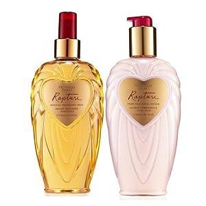 x2 Victoria's Secret Rapture Duo Lotion and Mist Set 8.4 ounces Each