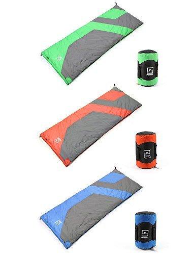 Schlafsack ( Grün/Blau/Orange ) - warm halten/Kaltes Wetter - Entendaunen