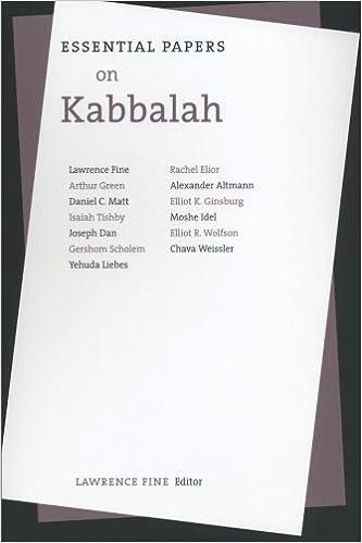 Essential Papers on Kabbalah (Essential Papers on Jewish Studies)