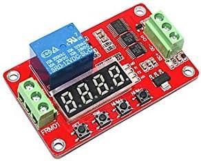 Swiftswan FRM01 DC 12V 1-Kanal-Multifunktions-Relaismodul Loop Delay Timer-Schalter Selbstsperrendes Timing-Modul