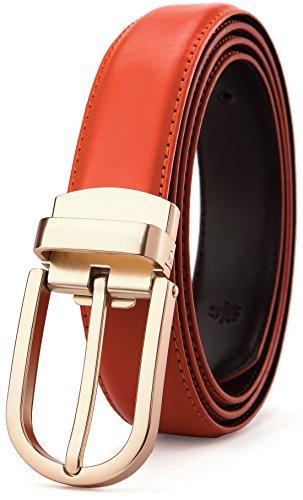 Bigant Mens Genuine Leather Belt for Men Dress, Adjustable by Cut to Fit by BIGANT