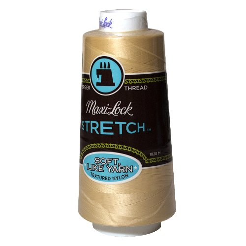 Maxi-Lock Stretch Thread 2,000 yds - #32599 Natural