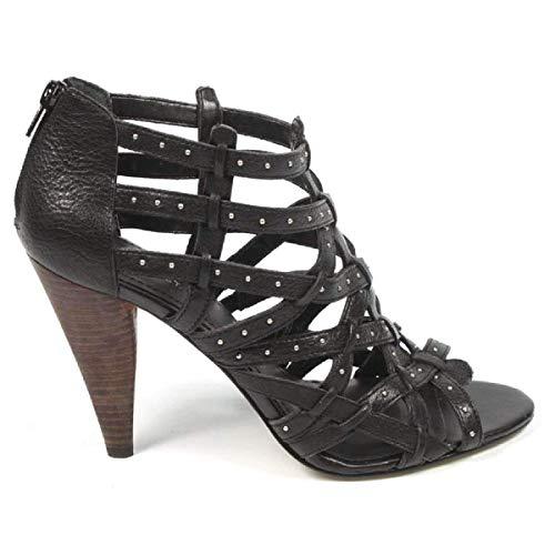 Black Sandalo West Nine Intagliato Nwkentaro Donna Bnqz6xY