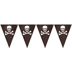 Creative Converting Buried Treasure Party Flag Banner