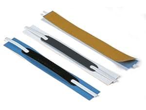 Durable - Fasteners adhesivos para dossier (100 unidades), color blanco