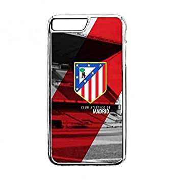 Atlético De Madrid transparente apple Iphone 7plus Funda ...