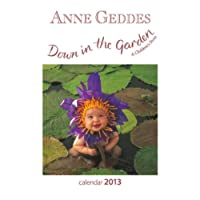 Anne Geddes 2013 Down in the Garden Mini 7x7 Wall