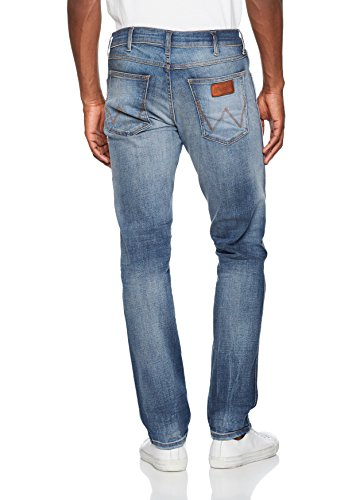 Hombre Azul 6g Greensboro Wrangler Leg Mid Vaqueros para Straight Glory zqvXYxwXp