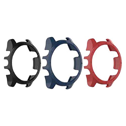 VICCKI 3PC Cover Shell Silicone Frame Protective for Garmin Forerunner 935 SmartWatch