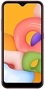 "Smartphone Samsung Galaxy A01 32GB Tela 5.7"" Camera 13MP Ver"
