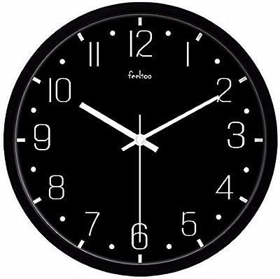 Amazon Com What On Earth Glow In The Dark Wall Clock