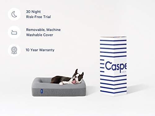 Casper DOGBD-MB-BU-US-JEF Memory Foam Pet Bed, Medium, Blue 3