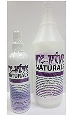 Re-vive Naturals Food Grade Quality Magnesium Chloride Combination Kit