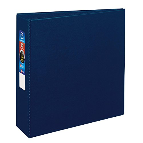 Avery Heavy-Duty Binder with 3-Inch One Touch EZD Ring, Navy Blue (79823)