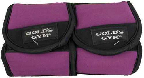 Gold's Gym 3 lbs. Pair Ankle / Wrist Weight ~ Increase Muscle Tone (2) 1.5 lbs.