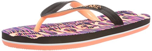 Slub Multicolore Nz2 Femme Superdry Flip Tongs Scuba Flop Multi qXA0x4a