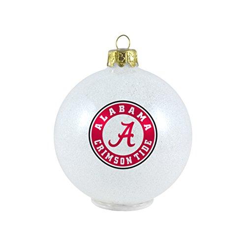 NCAA Alabama Crimson Tide LED Color Changing Ball Ornament