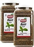 Badia Basil Leaves Whole 24 oz Pack of 2