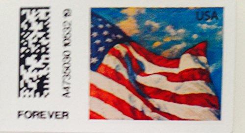 USPS Forever Stamps U.S. Flag Booklet of 20