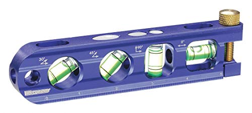 """Ideal 35-208 9/"""" Torpedo Level With 5 Vials"""