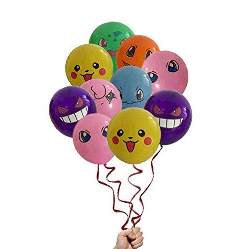 14 Count Pokemon Mix 30cm Latex Party Balloon Set   B073WHCG1S
