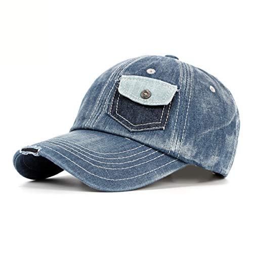 Sombrero béisbol D de Ocasional de Viaje Hombres del Sol Pato de GLLH Lavado Sombrero Sombrero de Las del Sombreros hat qin señoras Sombrero A del los Vaquero BwSw6npqP