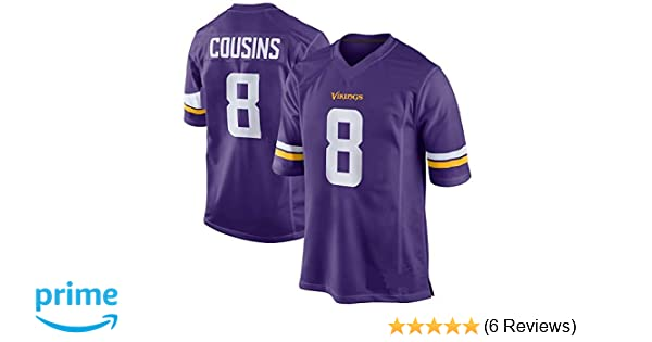 Amazon.com   Outerstuff Kirk Cousins Minnesota Vikings NFL Youth 8-20  Purple Home Mid-Tier Jersey   Sports   Outdoors 3cc999870