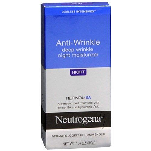 Neutrogena Ageless Intensives Deep Wrinkle Moisture, Night 1.4 oz (39 g)