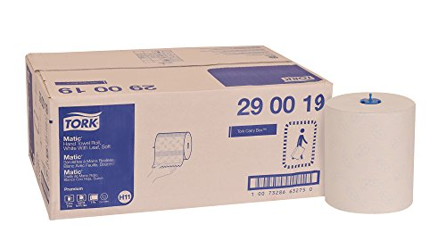 North America Paper Towel - Tork 290019 Premium Soft Matic Paper Hand Towel Roll, 2-Ply, 8.27