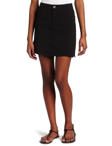 White Sierra Women's West Loop Trail Skort, Small, Black by White Sierra